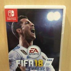 Videojuegos y Consolas Nintendo Switch: FIFA 18 - NINTENDO SWITCH [IMPORTACIÓN INGLESA] (2ª MANO - BUENO). Lote 288424818