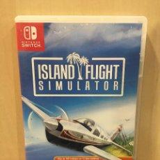 Videojuegos y Consolas Nintendo Switch: ISLAND FLIGHT SIMULATOR - SWI (2ª MANO - BUENO). Lote 288424823