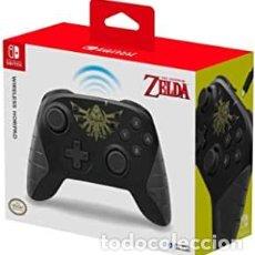 Videojuegos y Consolas Nintendo Switch: HORI - HORIPAD INALÁMBRICO ZELDA (NINTENDO SWITCH) (2ª MANO - BUENO). Lote 288424848