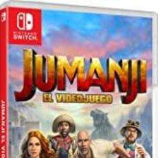 Videojuegos y Consolas Nintendo Switch: JUMANJI - EL VIDEOJUEGO - SWI (2ª MANO - BUENO). Lote 288424858