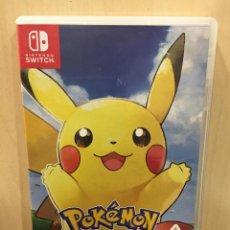 Videojuegos y Consolas Nintendo Switch: POKEMON LETS GO PIKACHU! - SWI (2ª MANO - BUENO). Lote 288424868