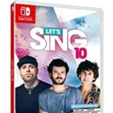 Videojuegos y Consolas Nintendo Switch: LETS SING 10 +2 MICROS - SWI (PRECINTADO) (2ª MANO - BUENO). Lote 288424893