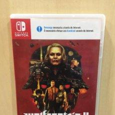 Videojuegos y Consolas Nintendo Switch: WOLFENSTEIN II - THE NEW COLOSSUS - SWI (2ª MANO - BUENO). Lote 288424903