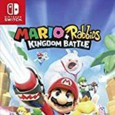 Videojuegos y Consolas Nintendo Switch: MARIO + RABBIDS KINGDOM BATTLE - SWI (2ª MANO - BUENO). Lote 288424913