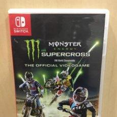 Videojuegos y Consolas Nintendo Switch: MONSTER ENERGY SUPERCROSS - SWI (2ª MANO - BUENO). Lote 288424933