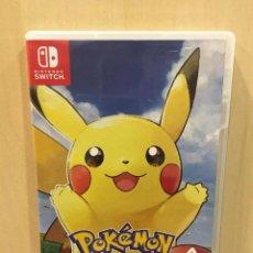 Videojuegos y Consolas Nintendo Switch: POKÉMON: LET'S GO, PIKACHU! (2ª MANO - BUENO). Lote 288424948