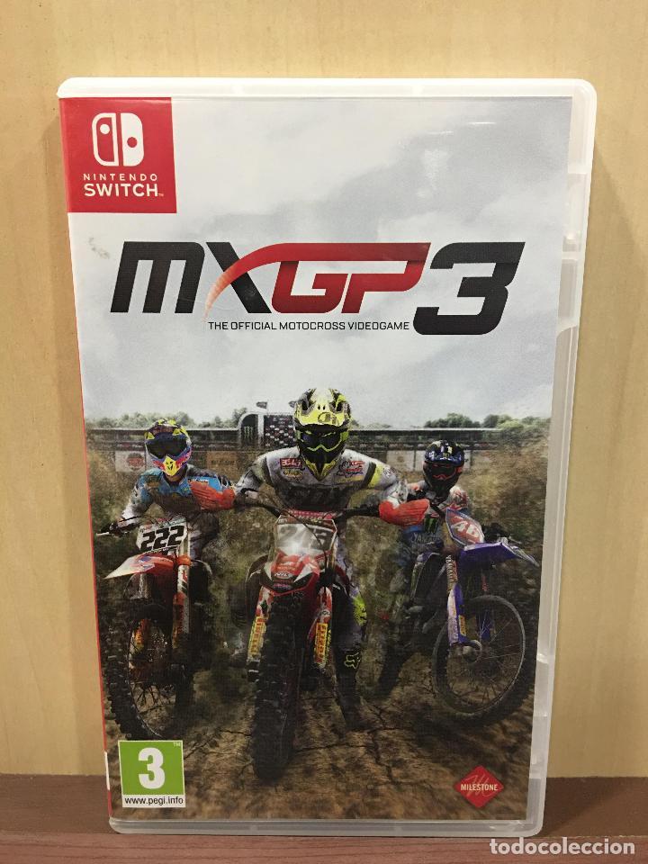 MXGP 3 THE OFFICIAL GAME - SWI (2ª MANO - BUENO) (Juguetes - Videojuegos y Consolas - Nintendo - Switch)