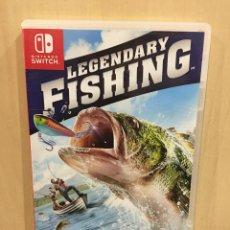 Videojuegos y Consolas Nintendo Switch: LEGENDARY FISHING - SWI (2ª MANO - BUENO). Lote 288424963