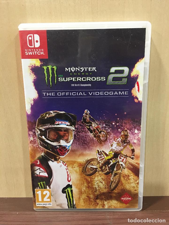 MONSTER ENERGY'S SUPERCROSS 2 THE OFFICIAL VIDEOGA (2ª MANO - BUENO) (Juguetes - Videojuegos y Consolas - Nintendo - Switch)