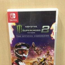 Videojuegos y Consolas Nintendo Switch: MONSTER ENERGY'S SUPERCROSS 2 THE OFFICIAL VIDEOGA (2ª MANO - BUENO). Lote 288424968