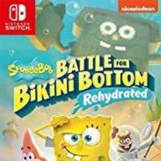 Videojuegos y Consolas Nintendo Switch: SPONGEBOB SQUAREPANTS BATTLE FOR BIKINI BOTTOM REH (2ª MANO - BUENO). Lote 288424978