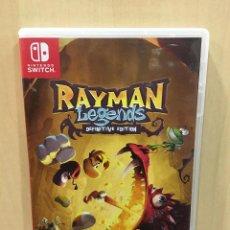 Videojuegos y Consolas Nintendo Switch: RAYMAN LEGENDS DEFINITIVE EDITION - SWI (2ª MANO - BUENO). Lote 288424983
