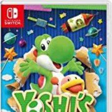 Videojuegos y Consolas Nintendo Switch: YOSHIS CRAFTED WORLD - SWI (2ª MANO - BUENO). Lote 288424993