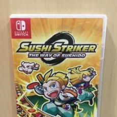 Videojuegos y Consolas Nintendo Switch: SUSHI STRIKER - THE WAY OF SUSHIDO - SWI (2ª MANO - BUENO). Lote 288424998
