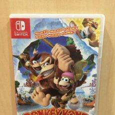 Videojuegos y Consolas Nintendo Switch: DONKEY KONG COUNTRY TROPICAL FREEZE - SWI (2ª MANO - BUENO). Lote 288425013