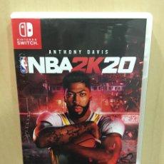 Videojuegos y Consolas Nintendo Switch: NBA 2K20 - SWI (2ª MANO - BUENO). Lote 288425028