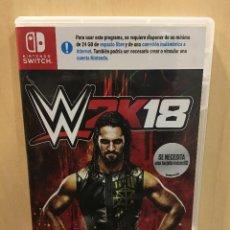 Videojuegos y Consolas Nintendo Switch: WWE 2K18 - SWI (2ª MANO - BUENO). Lote 288425033