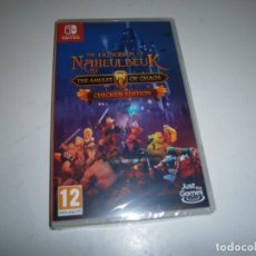 Videojuegos y Consolas Nintendo Switch: THE DUNGEON OF NAHEULBEUK THE AMULET OF CHAOS CHICKEN EDITION NINTENDO SWITCH PAL ESPAÑA NUEVO. Lote 290479838