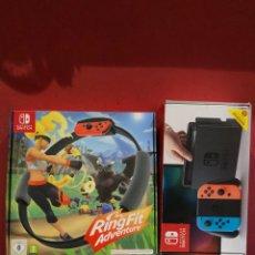 Videojuegos y Consolas Nintendo Switch: JUEGO CAJA VACÍA PARA LA CONSOLA NINTENDO SWITCH Y OTRA CAJA VACÍA RINGGIT ADVENTURE. Lote 290904193
