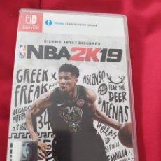Videojuegos y Consolas Nintendo Switch: NBA 2K19 SWITCH. Lote 291164218