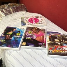 Videojuegos y Consolas Nintendo Switch: LOTE DE 4 JUEGOS COMPLETOS WII. VER FOTOS. Lote 291456808