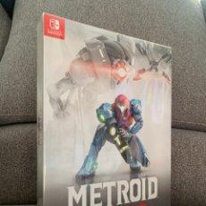 Videojuegos y Consolas Nintendo Switch: METROID DREAD EDICIÓN LIMITADA COLECCIONISTA PARA NINTENDO SWITCH. Lote 292060653
