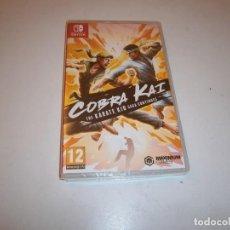 Videojuegos y Consolas Nintendo Switch: COBRA KAI THE KARATE KID SAGA CONTINUES NINTENDO SWITCH PAL NUEVO PRECINTAO. Lote 293510023