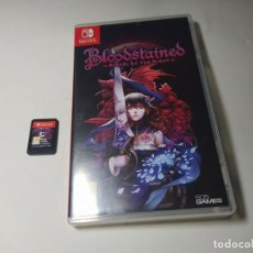 Videojuegos y Consolas Nintendo Switch: BOOLDSTAINES RITUAL OF THE NIGHT ( NINTENDO SWITCH - PAL - ESP)(2). Lote 293873538