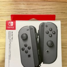 Videojuegos y Consolas Nintendo Switch: JOYCON GRISES NINTENDO SWITCH NUEVOS. Lote 294552928