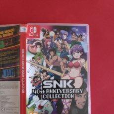 Videojuegos y Consolas Nintendo Switch: SNK 40TH ANNIVERSARY COLLECTION. Lote 295482753