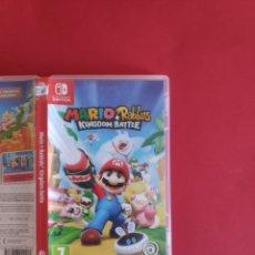 Videojuegos y Consolas Nintendo Switch: MARIO + RABBIDS KINGDOM BATTLE. Lote 295486823