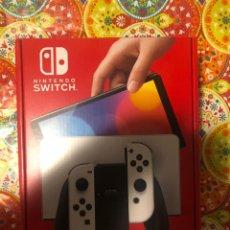 Videojuegos y Consolas Nintendo Switch: CONSOLA SWITCH OLED BLANCA PRECINTADA!!!. Lote 295800033