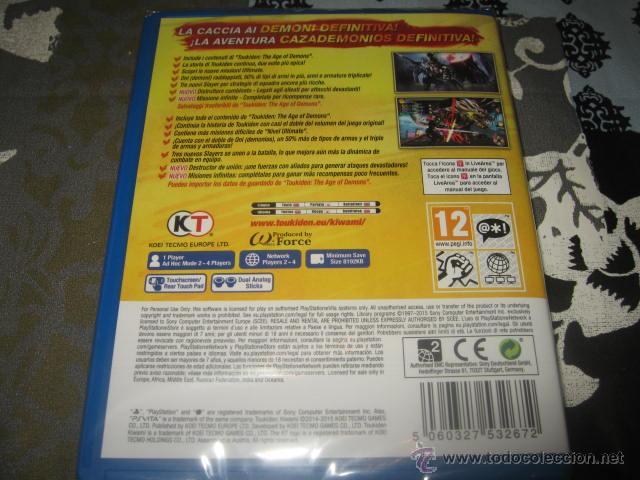 Videojuegos y Consolas PS Vita: TOUKIDEN KIWAMI PS VITA PAL ESPAÑA PRECINTADO - Foto 2 - 162920860