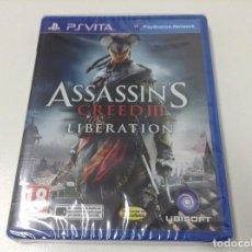 Videojuegos y Consolas PS Vita: ASSASSIN'S CREED III LIBERATION. Lote 68165805