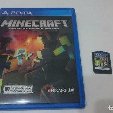 Videojuegos y Consolas PS Vita: MINECRAFT SONY PSVITA PS VITA PLAYSTATION ESPAÑOL.BUEN ESTADO. Lote 73525379