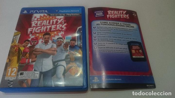 REALITY FIGHTERS SONY PSVITA PS VITA PLAYSTATION ESPAÑOL.BUEN ESTADO (Juguetes - Videojuegos y Consolas - Sony - PS Vita)