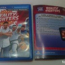 Videojuegos y Consolas PS Vita: REALITY FIGHTERS SONY PSVITA PS VITA PLAYSTATION ESPAÑOL.BUEN ESTADO. Lote 74029223