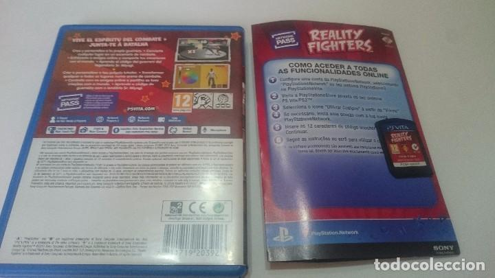 Videojuegos y Consolas PS Vita: REALITY FIGHTERS SONY PSVITA PS VITA PLAYSTATION ESPAÑOL.BUEN ESTADO - Foto 3 - 74029223