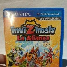 Videojuegos y Consolas PS Vita: JUEGO INVIZIMALS, LA ALIANZA, PARA PSVITA. Lote 77642869