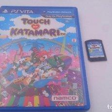 Videojuegos y Consolas PS Vita: TOUCH MY KATAMARI SONY PSVITA PS VITA PLAYSTATION ESPAÑA.BUEN ESTADO. Lote 80119225