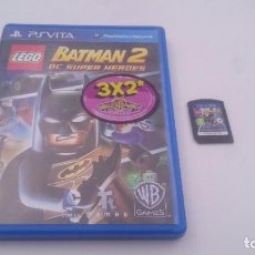 Videojuegos y Consolas PS Vita: BATMAN 2 DC SUPER HEROES LEGO SONY PSVITA PS VITA PLAYSTATION ESPAÑA.COMO NUEVO. Lote 80122329