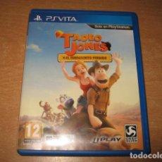 Jeux Vidéo et Consoles: TADEO JONES Y EL MANUSCRITO PERDIDO PS VITA PAL ESPAÑA. Lote 86035960