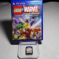 Videojuegos y Consolas PS Vita: LEGO MARVEL SUPER HEROES ( SONY PS VITA -PAL- ESPAÑA) A11. Lote 86394324