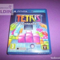 Videojuegos y Consolas PS Vita: TETRIS ULTIMATE NUEVO Y PRECINTADO PAL ESPAÑA PLAYSTATION VITA. Lote 88585140