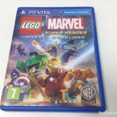 Videojuegos y Consolas PS Vita: LEGO MARVEL SUPER HEROES UNIVERSO EN PELIGRO. Lote 91754100
