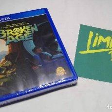 Videojuegos y Consolas PS Vita: BROKEN AGE ( SONY - VITA) LIMITED RUN #61 ( PRECINTADO). Lote 92990650