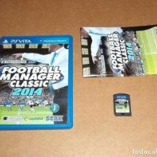 Videojuegos y Consolas PS Vita: FOOTBALL MANAGER CLASSIC 2014 PARA SONY PSVITA / VITA , PAL. Lote 93222515