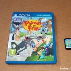 Videojuegos y Consolas PS Vita: PHINEAS Y FERB : EL DIA DE DOOFENSHMIRTZ PARA SONY PSVITA / VITA , PAL. Lote 93222605