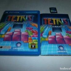 Videojuegos y Consolas PS Vita: TETRIS ULTIMATE PS VITA PAL ESPAÑA COMPLETO . Lote 95676751