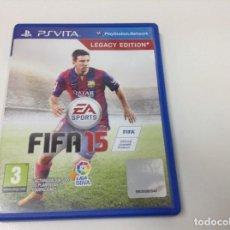 Videojuegos y Consolas PS Vita: FIFA 15 LEGACY EDITION. Lote 94506990